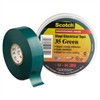 "Scotch 35 Vinyl Electrical Color Coding Tape, 3/4"" x 66ft, Green"