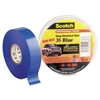 "Scotch 35 Vinyl Electrical Color Coding Tape, 3/4"" x 66ft, Blue"
