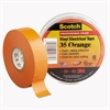 "3M Scotch 35 Vinyl Electrical Color Coding Tape, 3/4"" x 66ft, Orange"
