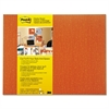 Post-it Cut-to-Fit Display Board, 18 x 23, Tangelo, Frameless