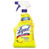 LYSOL Brand II Ready-to-Use All-Purpose Cleaner, Lemon Breeze, 32oz Spray Bottle, 12/Carton