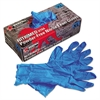 Memphis Nitri-Med Disposable Nitrile Gloves, Blue, X-Large, 100/Box