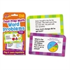 TREND Challenge Flash Cards, Math Grades 1-3, 3 1/8 x 5 1/4, 56 per Pack