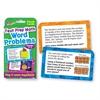 TREND Challenge Flash Cards, Math Grades 4-6, 3 1/8 x 5 1/4, 56 per Pack