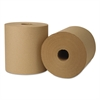 EcoSoft Universal Roll Towels, 800 ft x 8 in, Natural, 6 Rolls/Carton