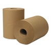 EcoSoft Hardwound Roll Towels, 425 ft x 8 in, Natural, 12 Rolls/Carton