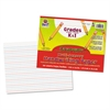 Pacon Multi-Sensory Raised Ruled Paper, 8-1/2 x 11, White, 100 Sheets/Pad