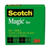 "Scotch Magic Tape, 1/2"" x 1296"", 1"" Core, Clear"