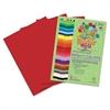 Premium Sulphite Construction Paper, 76 lbs., 9 x 12, Scarlet, 50/Pack