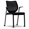 HON Nucleus Series Multipurpose Chair, Black ilira-stretch M4 Back, Black