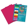 Roselle Heavyweight Construction Paper, 58 lbs., 9 x 12, Scarlet, 50 Sheets/Pack