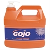 GOJO Natural Orange Pumice Hand Cleaner, 1gal Pump Bottle, 4/Carton