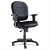 Alera Alera Wrigley Series Mesh Mid-Back Chair, Black