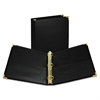"Classic Collection Ring Binder, 11 x 8 1/2, 1 1/2"" Cap, Black"