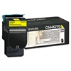 Lexmark C544X2YG Extra High-Yield Toner, 4,000 Page Yield, Yellow