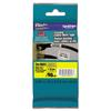 "Brother P-Touch TZe Flexible Tape Cartridge for P-Touch Labelers, 1"" x 26-1/5ft, Black on Yellow"