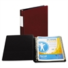 "Samsill DXL Heavy-Duty Locking D-Ring Binder With Label Holder, 1"" Cap, Burgundy"