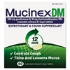 Mucinex DM Expectorant and Cough Suppressant, 40 Tablets/Box