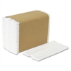 Tall Fold Dispenser Napkins, 1-Ply, 7 x 13 1/2, White, 10000/Carton