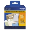 "Die-Cut Multipurpose Labels, 3/4"" x 2-1/10"", White, 400/Roll"
