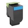70C1HC0 (LEX-701HC) High-Yield Toner, 3000 Page-Yield, Cyan