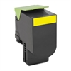 Lexmark 70C1HYO (LEX-701HY) High-Yield Toner, 3000 Page-Yield, Yellow
