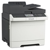 CX410e Multifunction Color Laser Printer, Copy/Fax/Print/Scan
