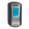 GOJO LTX-12 Touch-Free Dispenser, 1200mL, 5 1/4 x 3 1/3 x 10 1/2,Brushed Chrome/Black