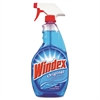 Windex Powerized Glass Cleaner with Ammonia-D, 26oz Spray Bottle, 12/Carton