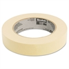 "Scotch Masking Tape, 24mm x 55m, 3"" Core, Tan"