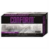Conform Natural Rubber Latex Gloves, 5 mil, Medium, 100/Box