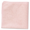Rubbermaid Commercial Microfiber Cleaning Cloths, 16 x 16, Pink, 24/Pack