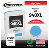 Innovera Remanufactured C4907AN (940XL) High-Yield Ink, Cyan