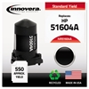 Innovera Remanufactured 51604A Ink, Black