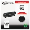 Remanufactured 0263B001AA (104) Toner, Black