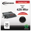 Remanufactured Q5942A(M) (42AM) MICR Toner, Black