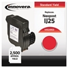 Innovera Compatible 3300028D (25) Postage Meter Ink, Red