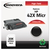 Remanufactured Q5942X(M) (42XM) High-Yield MICR Toner, Black