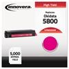 Compatible 43324402 (5500) Toner, Magenta