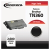 Innovera Remanufactured TN360 High-Yield Toner, Black