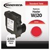 Innovera Compatible WJ20INK (20) Postage Meter Ink, Red