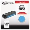 Innovera Compatible 43324403 (5500) Toner, Cyan
