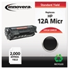 Remanufactured Q2612A(M) (12AM) MICR Toner, Black