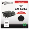Innovera Remanufactured Q5942X(J) (42XJ) High-Yield Toner, Black