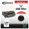 Innovera Remanufactured Q5949A(M) (49AM) MICR Toner, Black