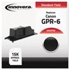 Compatible 6647A003AA (GPR-6) Toner, Black