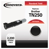 Innovera Compatible TN250 Toner, Black