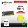 Remanufactured TN110Y Toner, Yellow
