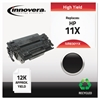 Innovera Remanufactured Q6511X (11X) High-Yield Toner, Black