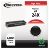 Remanufactured Q2624X (24X) High-Yield Toner, Black